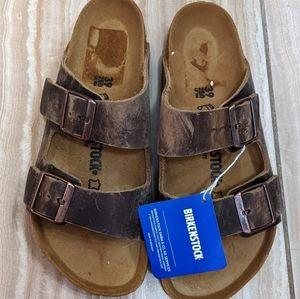 Birkenstock Arizona Tobacco Sandals
